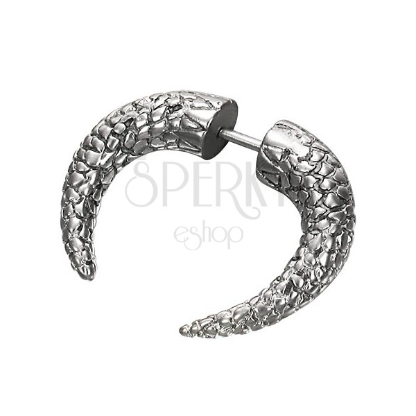 Fake expander with fish scales texture