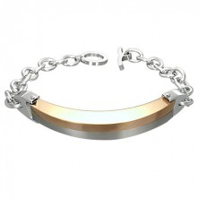 Stainless steel ID plate, fine chain