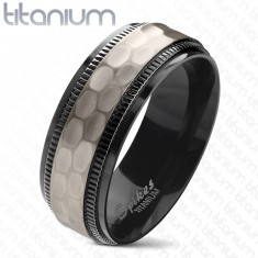 set women devuggo sterling matching ring men hers engagement rings com black his s titanium bride jewellery wedding band silver