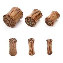 Coco wooden saddle ear plug