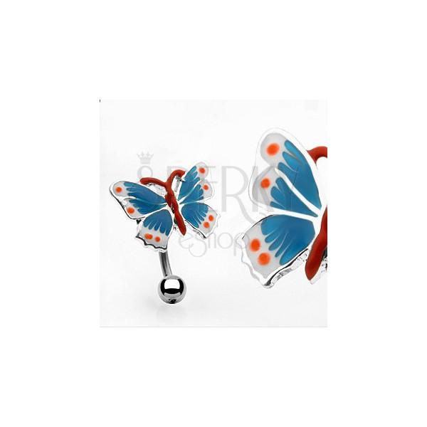 colorful butterfly belly ring jewellery eshop eu