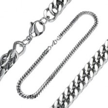 Surgical steel chain - thick links