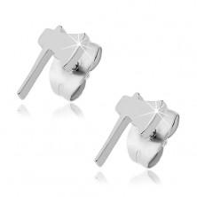 Stud earrings - axe motive