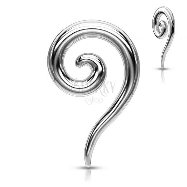 Ear piercing - spiral expander